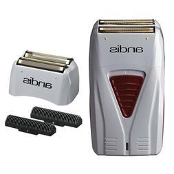 Andis Men's Titanium Foil Shaver with Bonus Replacement Fo