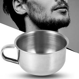Metal Shaving Soap Mug Bowl Cup Shaver Razor Cleansing Foam