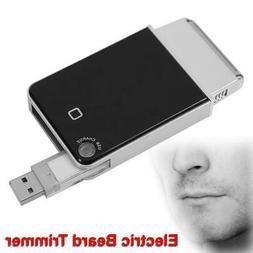 Mini Travel Shaver USB Charging Pocket Size Lightweight Cord