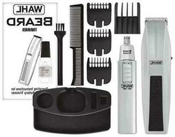 Wahl Mustache Beard Trimmer Shaver Set Clipper Hair Cut Groo