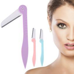 New 6pcs Women Face & Eyebrow Hair Removal Safety Razor Trim
