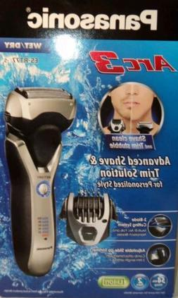 New Panasonic Arc3 ES-RT77-S Men's 3-Blade Wet/Dry Shaver Pi