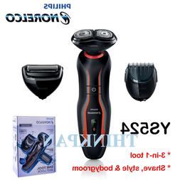 New Philips Norelco Click&Style shave, groom & style YS524/4