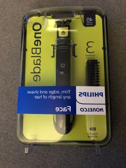 New Philips Norelco Face Oneblade Hybrid Electric Trimmer an