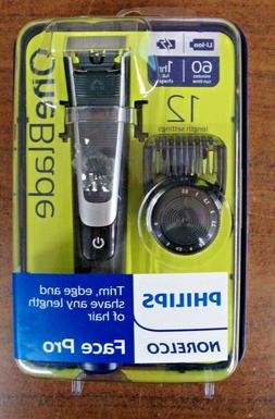 New Philips Norelco OneBlade Face Pro Hybrid Styler Trimmer