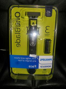 NEW Philips Norelco OneBlade Hybrid Electric Trimmer and Sha