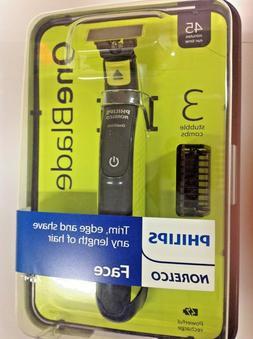 Philips Norelco OneBlade Men's New Electric Shaver/Razor/Fac