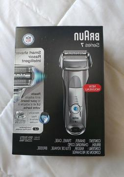 New Open Box Braun Series 7 Cordless Electric Shaver Razor W