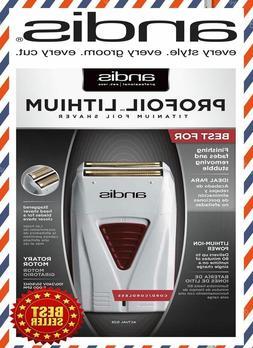 """""""NEW"""" Andis ProFoil Lithium Titanium Foil Shaver 17150"""