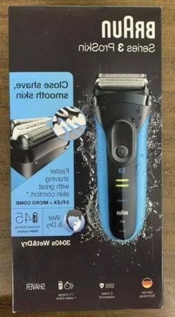 New Braun Series 3 ProSkin 3040s Wet & Dry Electric Shaver B