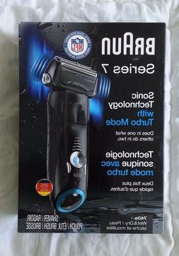 New Braun Series 7 Cordless Electric Shaver Razor Wet NFL 74