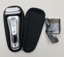 NEW Braun Series 9 S9 Men's Electric Razor Foil Shaver Wet &