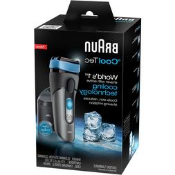 NIB Braun CoolTec CT5CC World 1st Shaver With Active Cooling