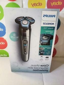 norelco 7100 cordless rechargeable electric shaver model