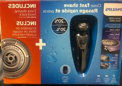 Philips Norelco Cordless Shaver 5000 Series Wet & Dry New Bo