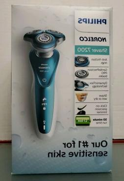 Philips Norelco Electric Shaver 7200 Wet & Dry for Sensitive