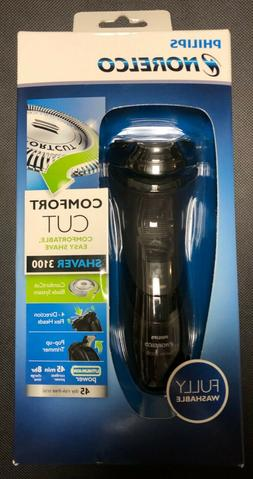 Philips Norelco Shaver 3100 Cord/Cordless Power POP Up Trimm