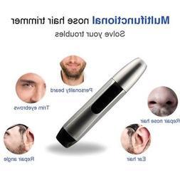 Nose Ear Hair Trimmer Face Neck Eyebrow Shaver Clipper Groom