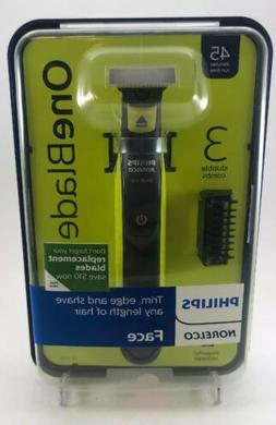 Philips Norelco Oneblade Hybrid Electric Face Trimmer and Sh