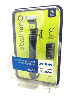 PHILIPS NORELCO ONEBLADE ONE BLADE FACE TRIMMER SHAVER QP252