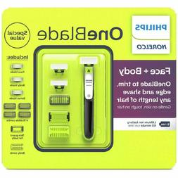 PHILIPS Norelco One Blade FACE and BODY Trimmer Shaver Razor