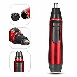 Portable Cordless Safe Hypoallergenic  Nose Ear Hair Trimmer
