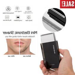 Portable Men's Pocket Electric Foil Shaver Razor Business Tr