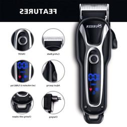 SURKER Pro Electric Hair Cutting Trimmer Clipper Men Shaver