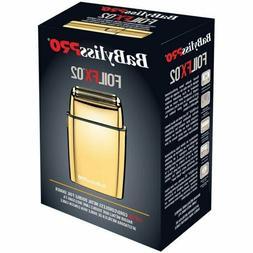 BaByliss PRO® FOILFX02™ Cordless Metal GOLD Double Foil S