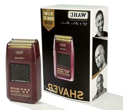 WAHL Professional 5 Star Cord/Cordless Rechargeable Shaver/S