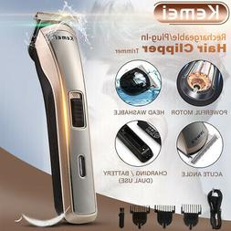 professional electric cordless hair clipper beard trimmer