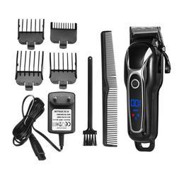 Professional Men Electric Shaver Hair Clipper Trimmer Haircu