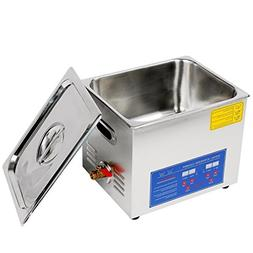 Jakan PS-40A Digital 10L Ultrasonic Glasses Cleaner to Clean