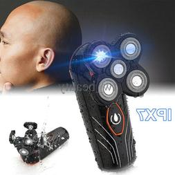 Men 5 Head Floating Electric Shaver Beard Hair Rechargeable