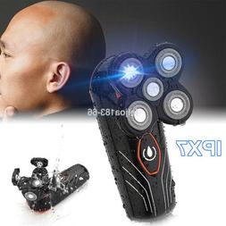 Rechargeable 5 Head Floating Men'S Electric Shaver Beard Hai