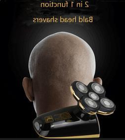 Rechargeable  5 Head Skull Head Shaver Men's Razor Cordless