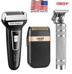 Men Shaver Trimmer Razor Electric USB Rechargeable Shaving M