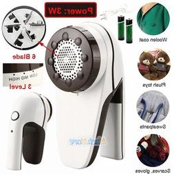 Rechargeable Fabric Shaver Lint Remover Fuzz Sweater Clothes