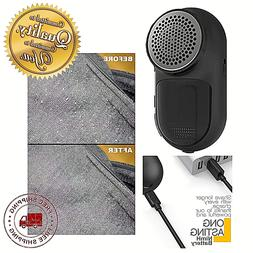 Rechargeable Lint Remover Fabric Shaver Clothes Pill Portabl