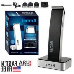 Rechargeable Men Electric Hair Clipper Shaver Beard Razor Tr