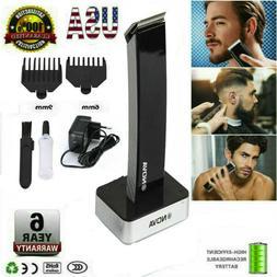 Rechargeable Men Electric Hair Clipper Shaver Beard Razor Tr