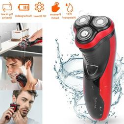 rotary electric razor shaver with pop up