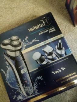 Hatteker RSCX-9608 Electric Shaver Razor For Men 4 in 1 Bear