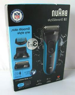 Braun S3 Shave&Style 3-in-1 Men's Wet&Dry Electric Shaver 30