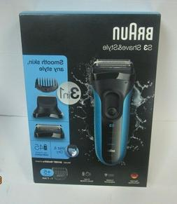 s3 shave and style shaver 3010bt