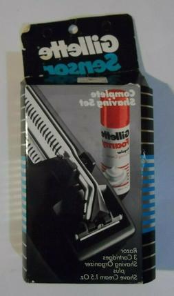Gillette SensorExcel Razor With 2 Cartridges with Bonus Sens