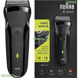 Braun Series 3 300s Rechargeable Electric Shaver Waterproof