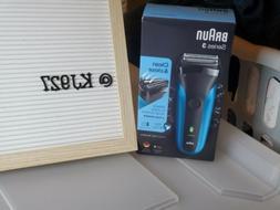Braun Series 3 BRA310 310S Cordless Rechargeable Men's Wet &