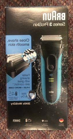 Braun Series 3 ProSkin 3040s Wet & Dry Electric Shaver Black