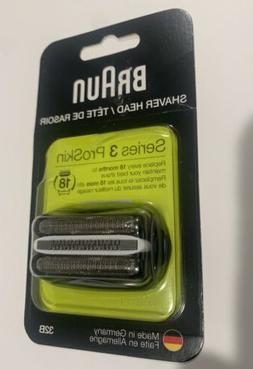 Braun Series 3 ProSkin 32B Shaver Head,Compatible w/Models 3